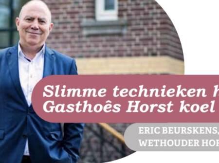 Slimme technieken houden Gasthoês Horst koel en droog